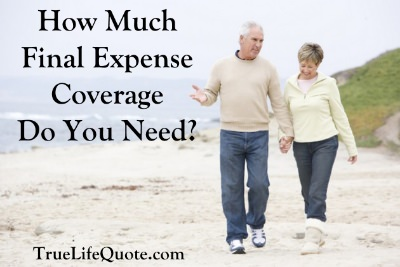 how much final expense coverage
