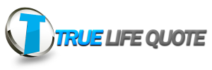 True Life Quote Logo